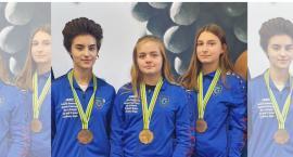 Trzy medale dla zawodniczek z Wierzbna