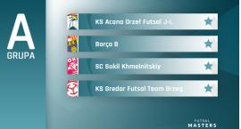 Acana Futsal Masters: W grupie A parkiet będzie rozgrzany do czerwoności