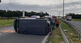 Niebezpiecznie na autostradzie A4