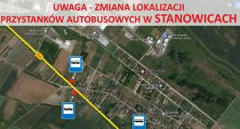 Nowe lokalizacje przystanków w Stanowicach!
