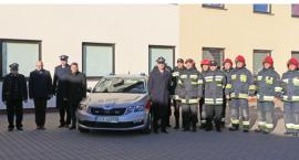 Nowy samochód dla oławskiej straży pożarnej