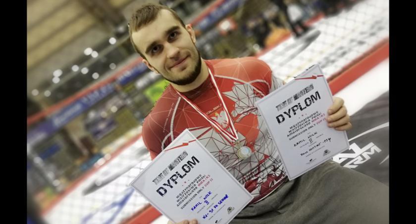 Inne, Wilku Mistrzostw Polski wraca srebrnymi medalami - zdjęcie, fotografia