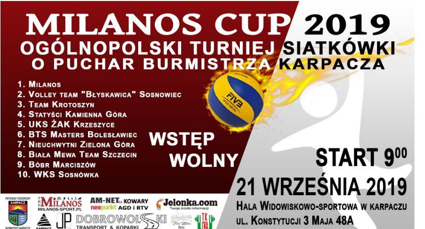 Inne, Ogólnopolski turniej siatkówki Milanos - zdjęcie, fotografia