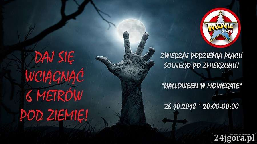 Turystyka, Halloween schrosnie Placem Solnym Wrocławiu! - zdjęcie, fotografia