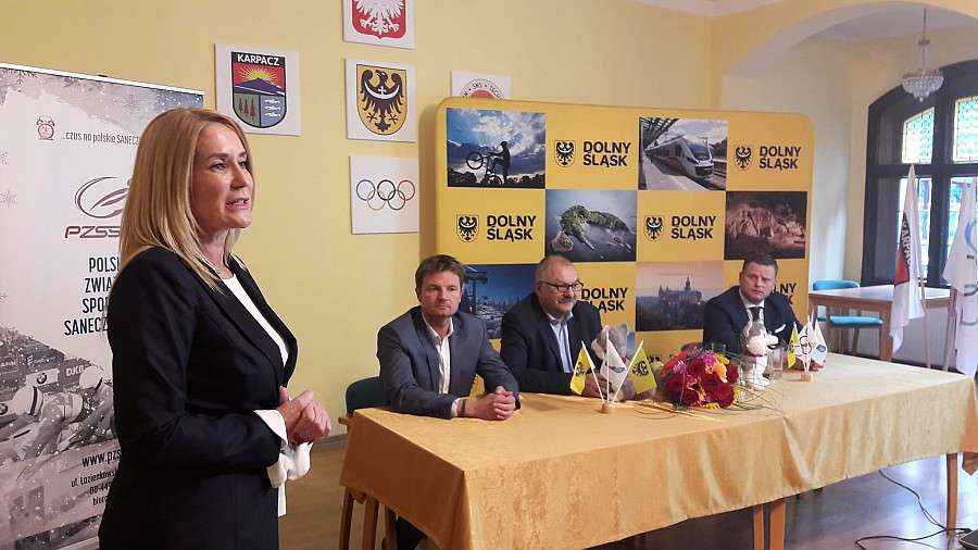 Inwestycje, powstanie saneczkowy Karpaczu - zdjęcie, fotografia