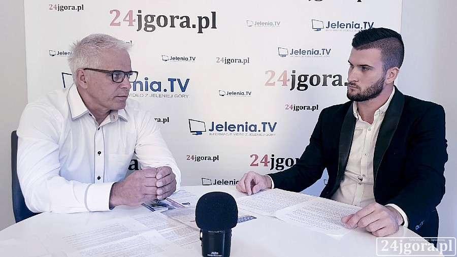 Wywiady, Jacek Kamiński kandydat burmistrza Piechowic - zdjęcie, fotografia