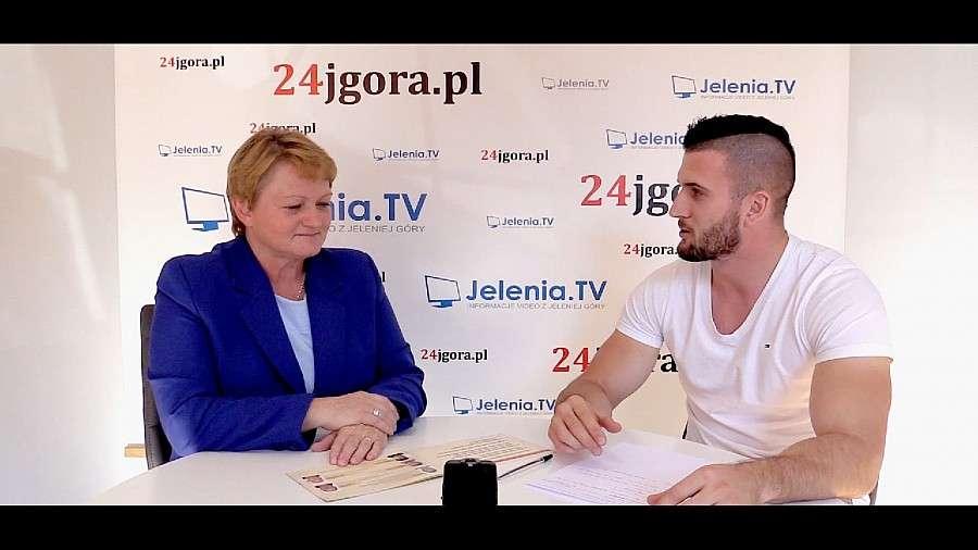 Wywiady, Wondołowska Grabowska kandydat Burmistrza Szklarskiej Poręby - zdjęcie, fotografia