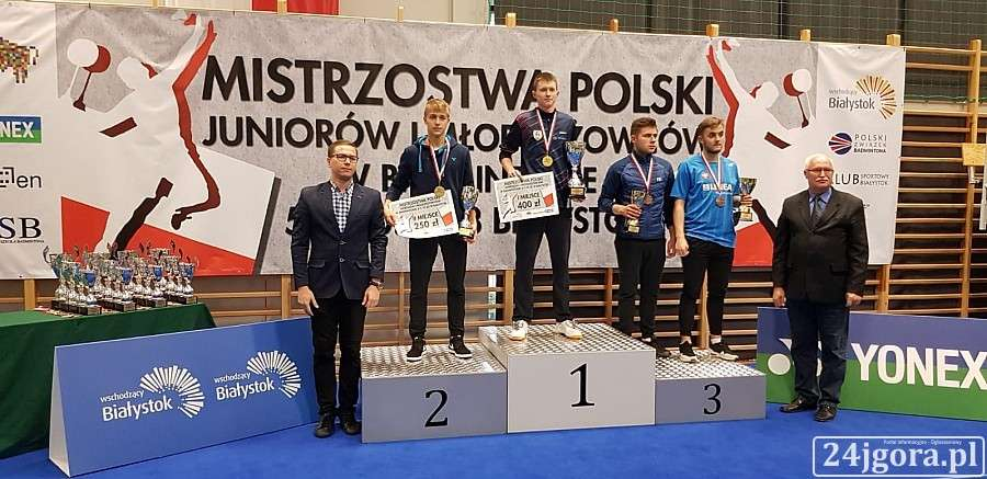 Inne, Złoto brązy Mistrzostwach Polski Badmintonie - zdjęcie, fotografia