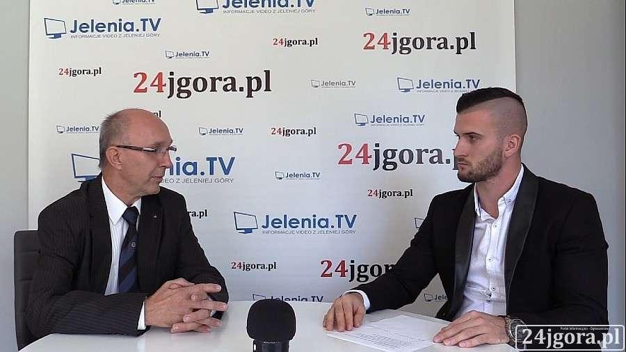 Wywiady, Grzegorz Niedźwiecki kandydat Prezydenta Jeleniej Góry - zdjęcie, fotografia