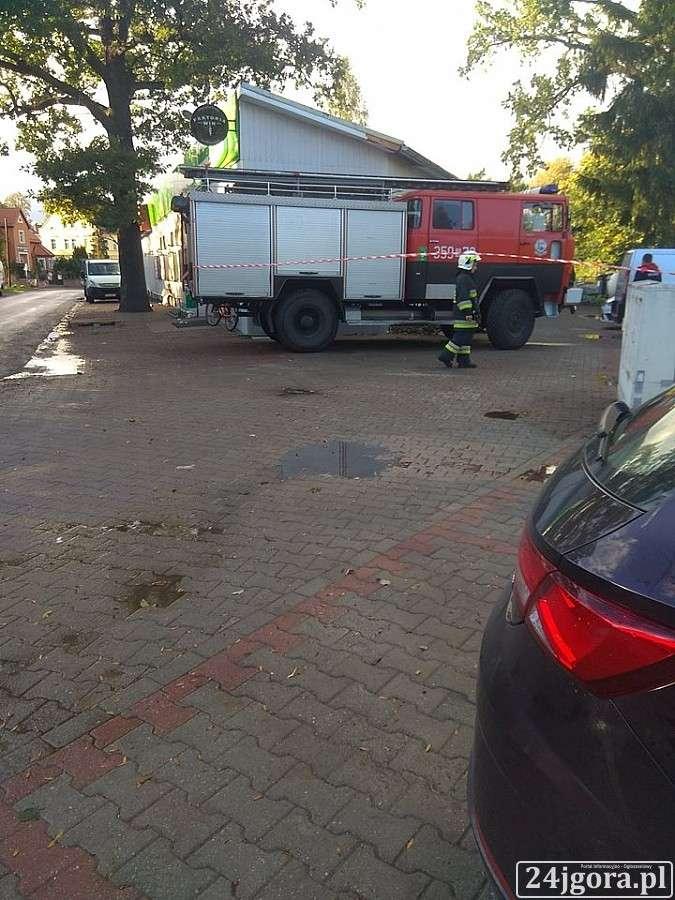 Z ostatniej chwili, Interwencja straży pożarnej Starej Kamienicy - zdjęcie, fotografia