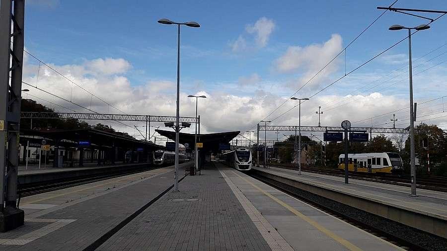 Komunikacja, Będzie pociąg Mazury Świnoujścia Kołobrzegu Łeby - zdjęcie, fotografia