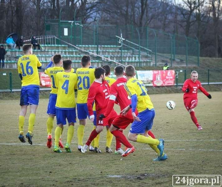 Piłka nożna, Wyniki spotkań dolnośląskiej okręgówki klasy - zdjęcie, fotografia