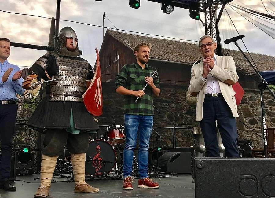 Ludzie, Paweł Domagała koncertował Zamku Czocha - zdjęcie, fotografia