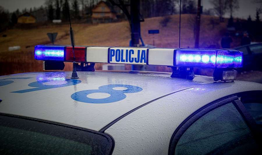 Komunikaty policji, zatrzymał kontroli drogowej poszukiwany - zdjęcie, fotografia