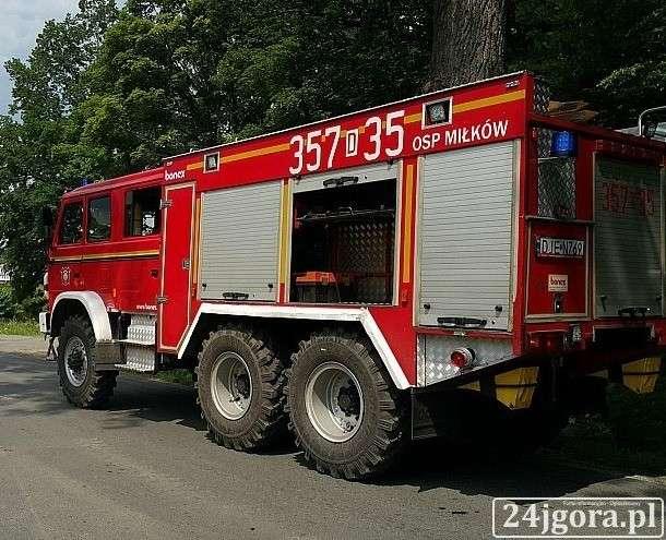 Pożary, Wybuch Miłkowie - zdjęcie, fotografia