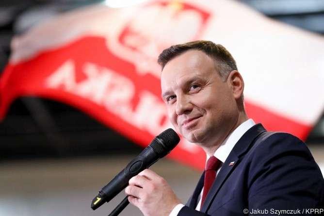Samorząd, Prezydent Andrzej wizytą Lubaniu - zdjęcie, fotografia