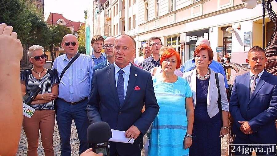 Samorząd, Jerzy Łużniak oficjalnie przedstawił program wyborczy - zdjęcie, fotografia