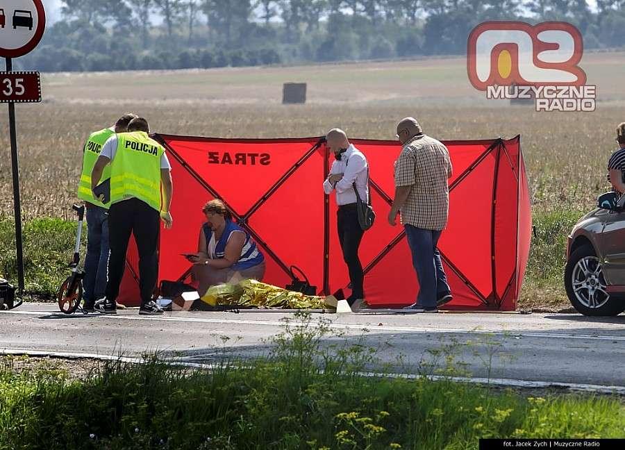 Wypadki drogowe, Śmierć kołami żyje latka - zdjęcie, fotografia