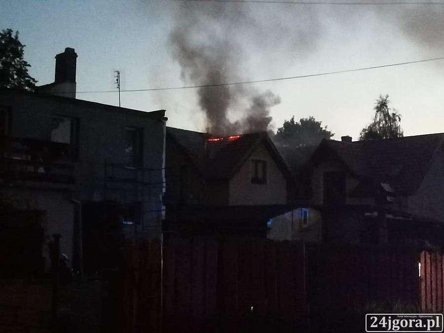 Pożary, Pożar Maciejowej - zdjęcie, fotografia