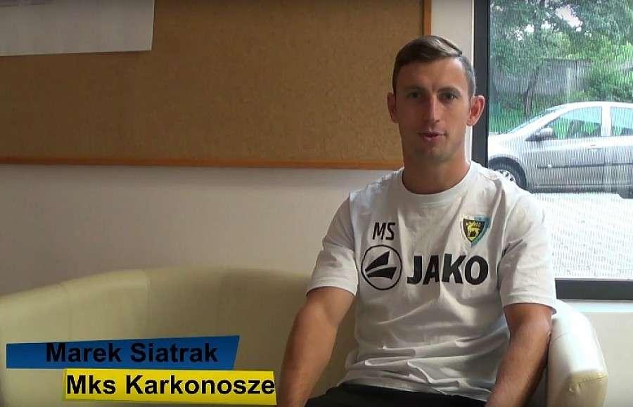 Piłka nożna, Marek Siatrak trenerem Karkonoszy - zdjęcie, fotografia