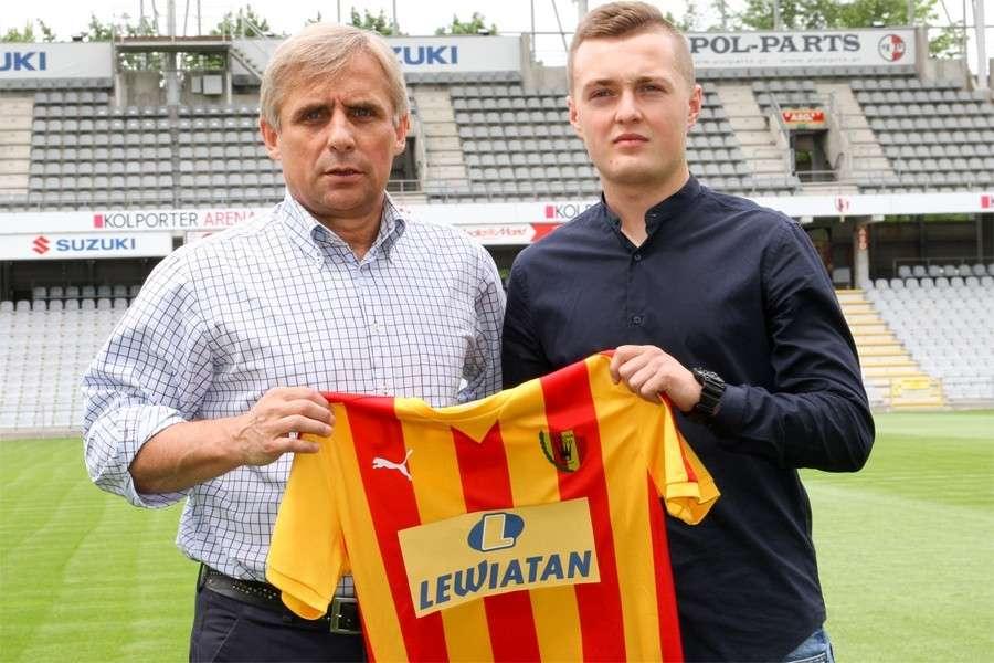 Piłka nożna, Maciej Firlej zagra Ekstraklasie! - zdjęcie, fotografia
