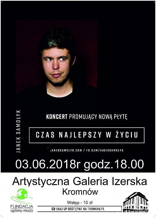 Koncerty, Koncert Janka Samołyka - zdjęcie, fotografia