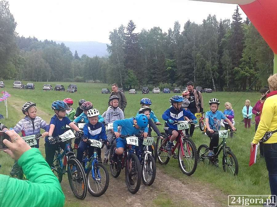 Inne, Zawody rowerowe Cross Czerwonak - zdjęcie, fotografia
