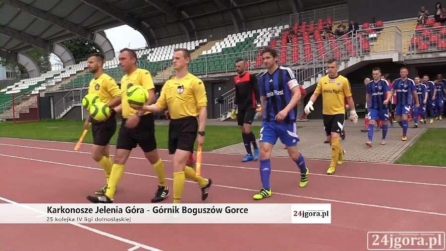 Piłka nożna, Tylko remis Karkonoszy (skrót video) - zdjęcie, fotografia