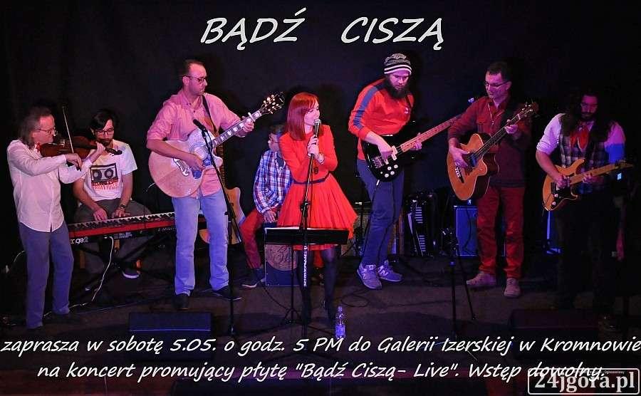 Koncerty, Koncert zespołu Bądź Ciszą - zdjęcie, fotografia