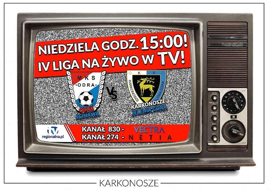 Piłka nożna, Karkonoszy profesjonalnej transmisji żywo! - zdjęcie, fotografia
