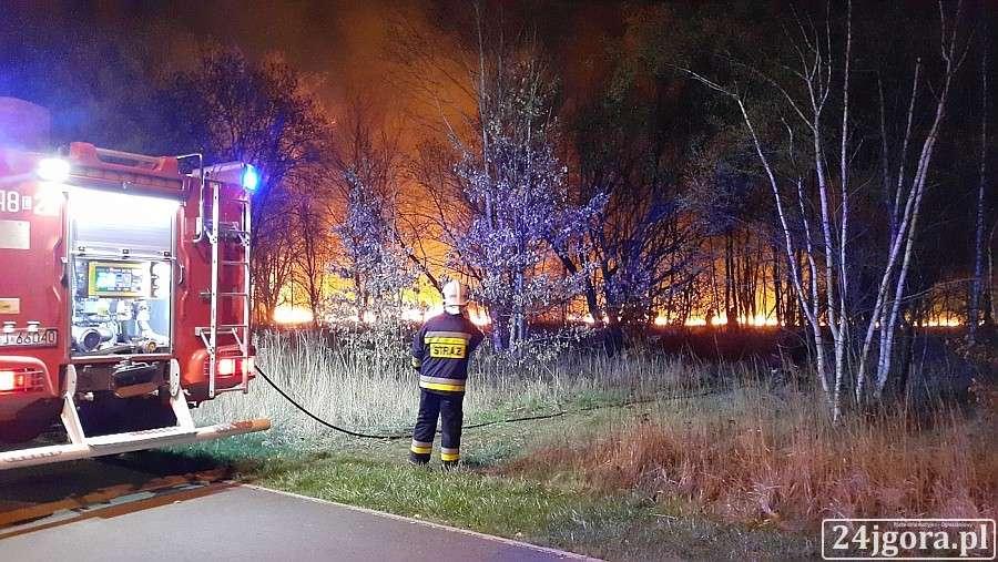 Pożary, Pożar Karola Miarki - zdjęcie, fotografia