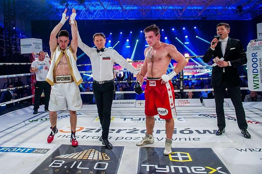 Boks, Drugie zwycięstwo Oskara Kapczyńskiego! (VIDEO) - zdjęcie, fotografia