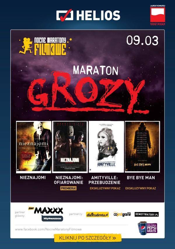 Film-Kino, Maraton Grozy kinach Helios! - zdjęcie, fotografia