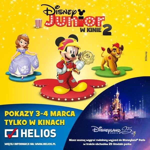 Film-Kino, Helios zaprasza Disney Junior Kinie - zdjęcie, fotografia