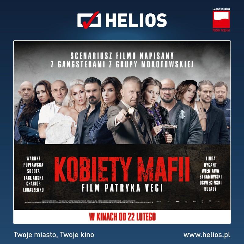 Film-Kino, Kobiety mafii premierowe seanse kinie Helios! - zdjęcie, fotografia