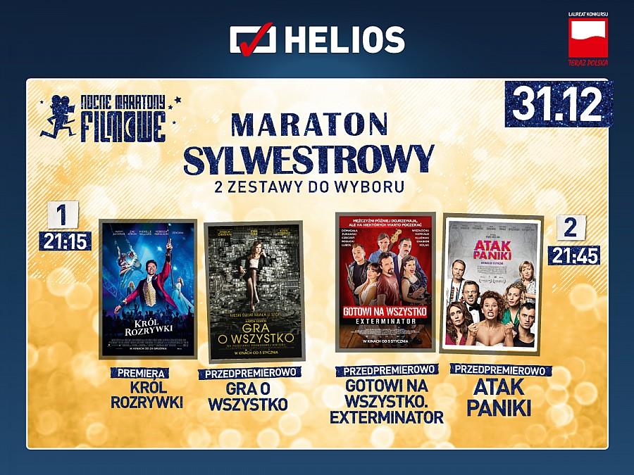 Film-Kino, Maraton Sylwestrowy kinie Helios! - zdjęcie, fotografia
