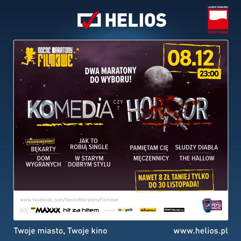 Film-Kino, Komedia Horror Podwójny Maraton kinie Helios! - zdjęcie, fotografia