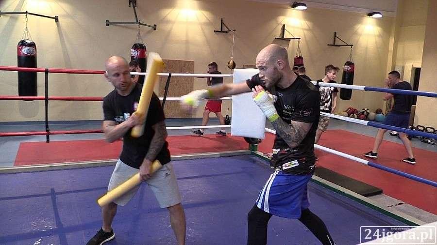 Boks, Maciej Sulęcki trenuje Fighters! (VIDEO) - zdjęcie, fotografia