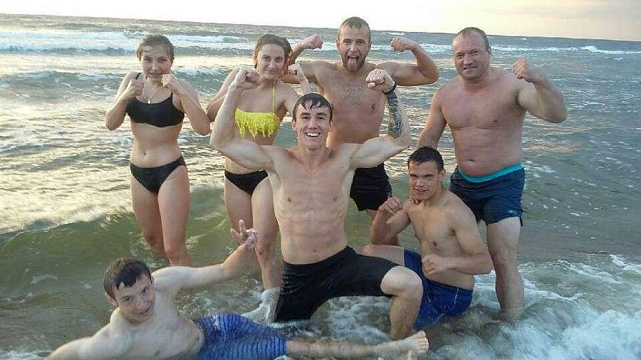 Boks, Pracowite wakacje pięściarzy Fighters! - zdjęcie, fotografia