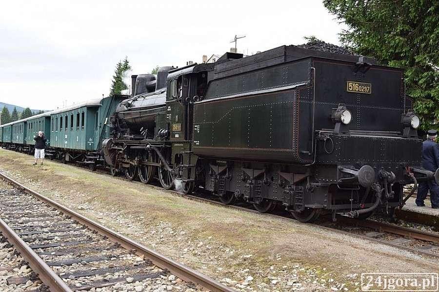 Komunikacja, Setne urodziny zabytkowej lokomotywy - zdjęcie, fotografia