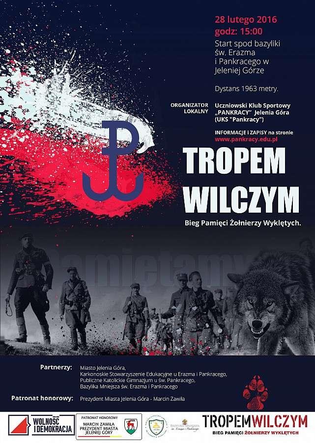 """Historia, """"Tropem Wilczym Pamięci Żołnierzy Wyklętych"""" - zdjęcie, fotografia"""