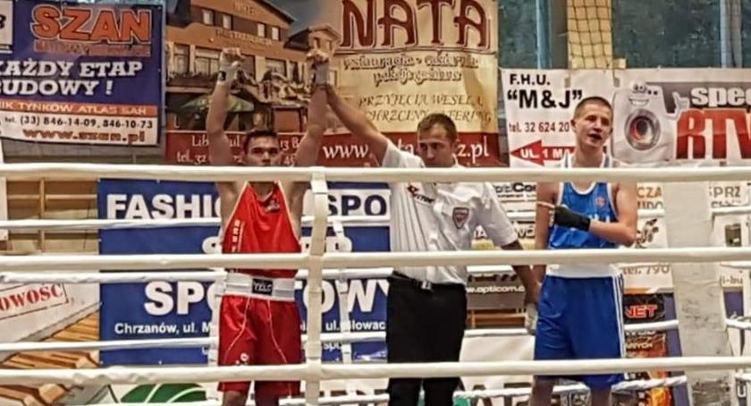 Boks, Pięściarze Fighters arenie międzynarodowej - zdjęcie, fotografia