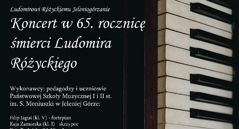 Wydarzenia, Koncert rocznicę śmierci Ludomira Różyckiego - zdjęcie, fotografia