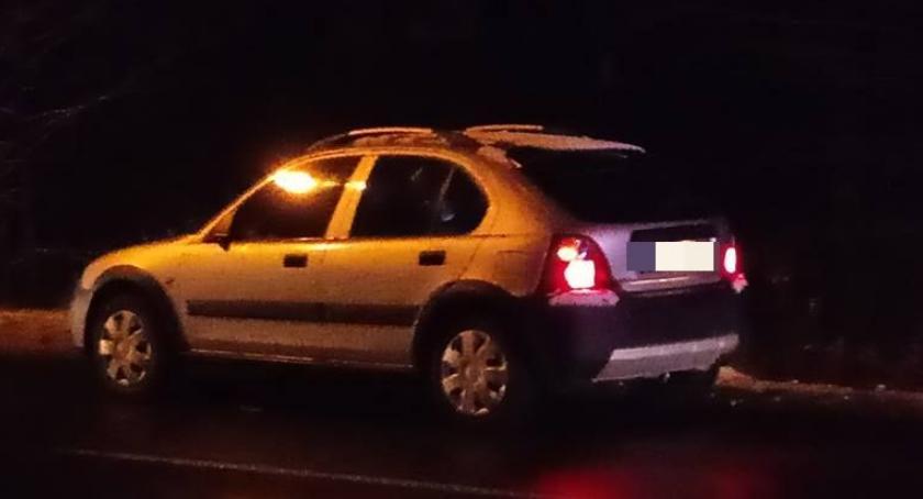 Wypadki drogowe, Potrącenie pieszego ulicy Ogińskiego - zdjęcie, fotografia
