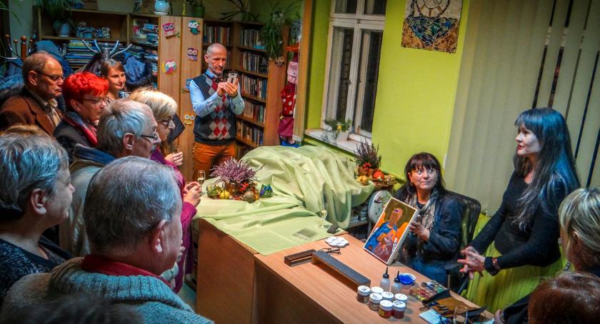 Wystawy, wernisaż wystawy Katarzyny Kobuszewskiej - zdjęcie, fotografia