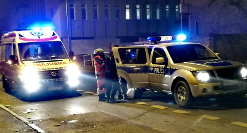 Kronika Kryminalna, Chciał skoczyć pijany - zdjęcie, fotografia