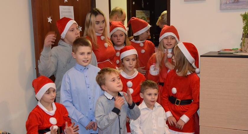 Dzieci, Mikołaj odwiedził Dziecka Szklarskiej Porębie - zdjęcie, fotografia