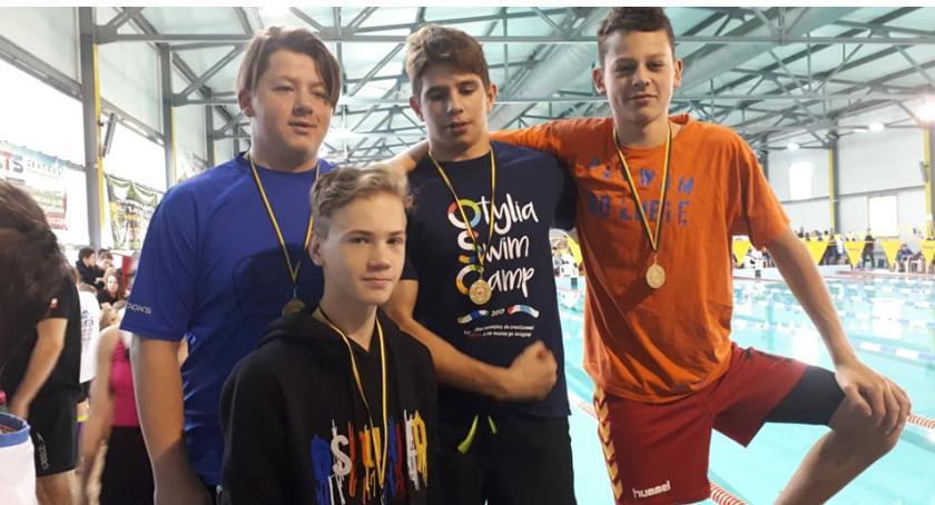 Inne, Bardzo udane Mistrzostwa Dolnego Śląska pływaniu - zdjęcie, fotografia