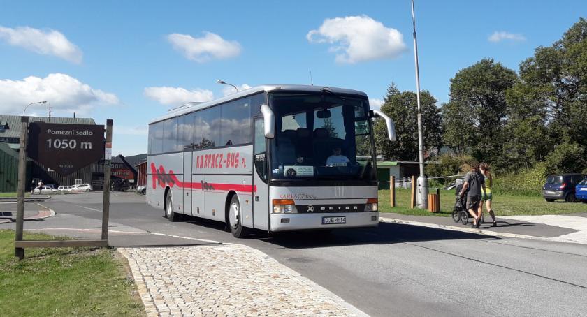 Komunikacja, Autobusem Czech - zdjęcie, fotografia