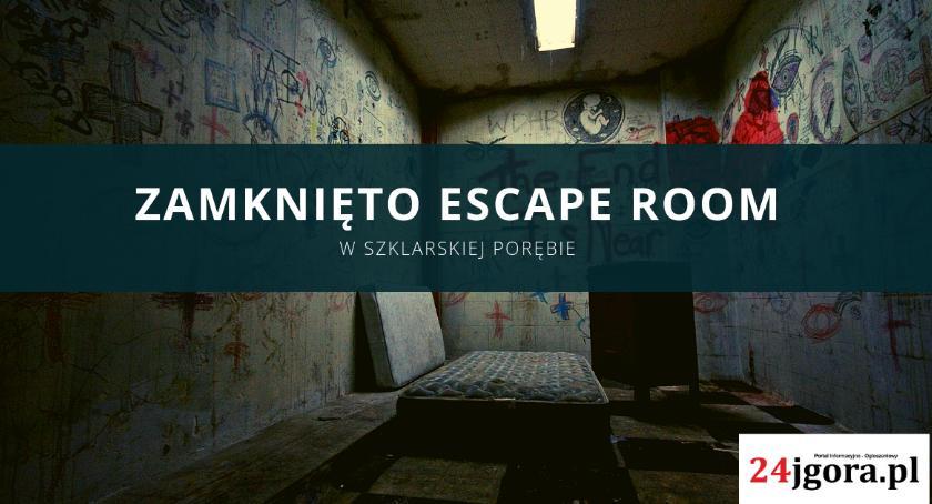 Ważne komunikaty, Zamknięto Escape Szklarskiej Porębie - zdjęcie, fotografia